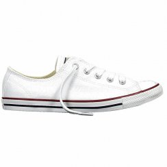 Womens Chuck Taylor All Star Dainty White Canvas