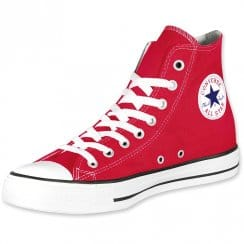 Chuck Taylor All Star Hi Red - Chuck Taylor All Star Lace Up Hi Top Sneakers