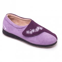 Padders Womens Hug Slippers - Purple