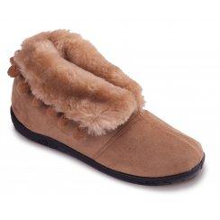 Padders Womens Eskimo Slippers - 436 - Tan