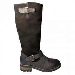 Sweet Bridge Brown Long Boots