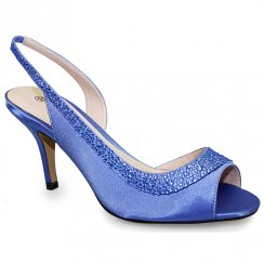 Lunar Chrissie Heeled Sandals - FLR347 - Blue