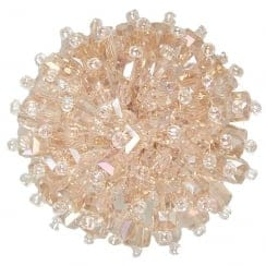 Van Dal Francesca Beaded Shoe Clip - Blush