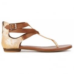 Emu Kinglake Strappy Sandals - W11190 - Silver/Brown