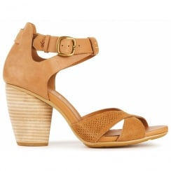 Emu Tweed Strappy Sandals - W11180 - Tan