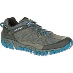 Mens Merrell All Out Blaze Ventilator Gore-Tex Shoes - Grey/Blue
