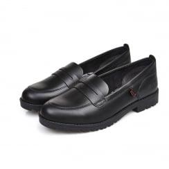 Kickers Womens/Girls Lachly Loafer Black -1-14210