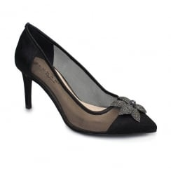 Lunar Ellen Court Shoe - Black FLR361