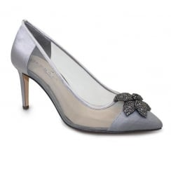Lunar Ellen Court Shoe - Grey FLR361