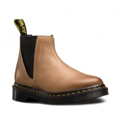 Dr.Martens Bianca Womens Chelsea Ankle Boots - Tan -21605203