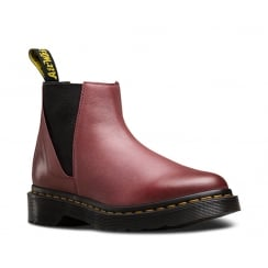 Dr.Martens Bianca Womens Chelsea Ankle Boots - Wine -21605618