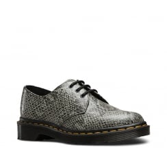 Dr.Martens 1461 Viper Womens Lace Up Shoes - Light Grey 21444051