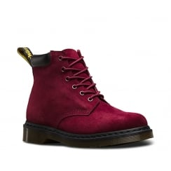 Dr.Martens 939 Soft Buck Womens Nubuck Ankle Boots - Wine -21639618