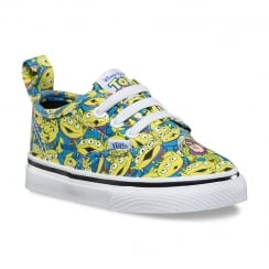 Toddler Toy Story Authentic V Lace Trainers - Aliens - VA33SSM4U