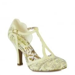 Ruby Shoo Polly - Ladies Heels - Lemon - 09079