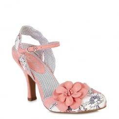 Ruby Shoo Heidi - Ladies Heels - Peach