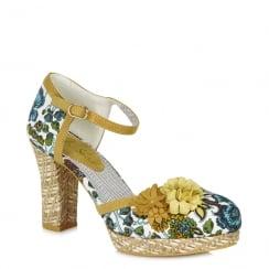 Ruby Shoo Flo - Ladies Heeled Sandals - Mango - 09094