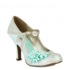 Ruby Shoo Yasmin - Ladies Heels - Blue - 09088