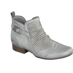 Mustang 1176-506 Silver Grey Ankle Boot