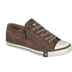 Mustang 4096-301 Mens Trainer - Brown