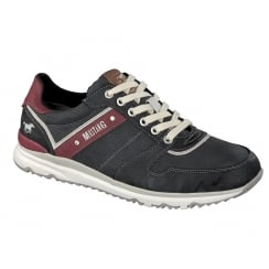 Mustang 4095-307 Mens Trainer - Charcoal