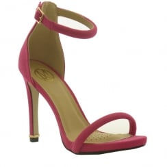 Millie & Co Barely Fuschia/Pink There Heeled Sandal - B18628