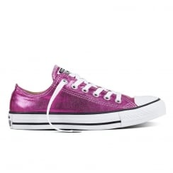 Converse Chuck Taylor All Star Purple Metallic Trainers