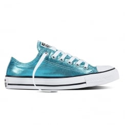 Converse Chuck Taylor All Star Blue Metallic Trainers
