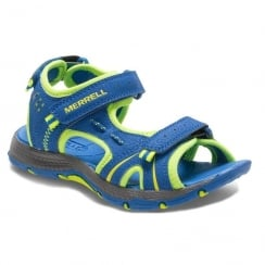 Merrell Boys Panther Leather Sports Sandal