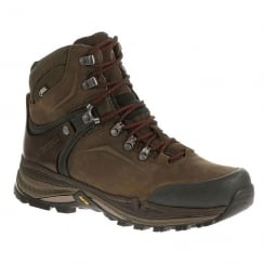 Merrell Mens Clay Crestbound Gore-Tex Hiking Brown Boots