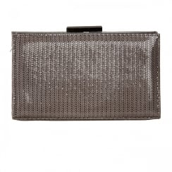 Van Dal Zinnia Storm Chevron Print Clutch Handbags