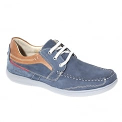 Dubarry Mens Brody Navy Leather Lace Up Shoes