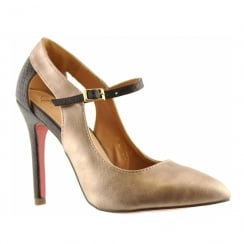Kate Appleby Kenwick Rose/Brown Pointed Toe Stiletto