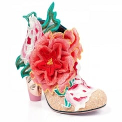 Irregular Choice Rows Garden - Pink