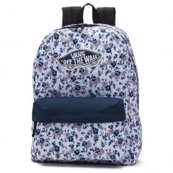 Vans Realm 22 litre Backpack - White Ditsy Blooms