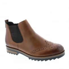 Remonte Ladies Brown Chelsea Boots