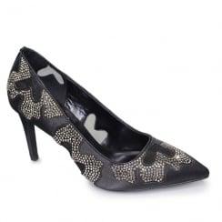 Lunar Rebecca Black Embellished Evening Heels