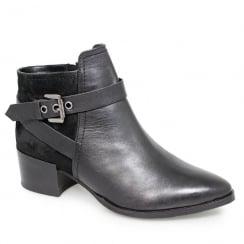 Lunar Lucille Black Fashion Ankle Boots