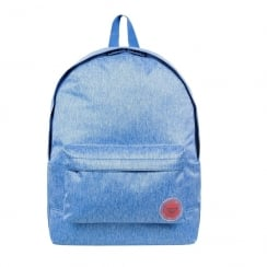 Roxy Sugar Baby Blue Solid 16L Medium Backpack 03535