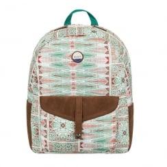 Roxy Carribean Green/Coral 18L Medium Backpack 03537