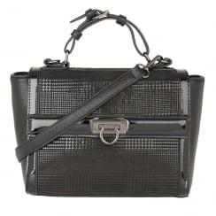 Lotus Hennie Black Print Front Handbag