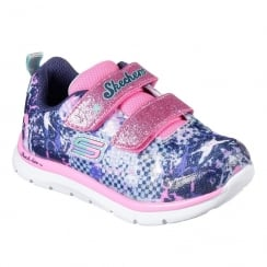 Skechers Girl's Toddler Skech-Lite Flexies Sneakers