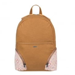 ROXY Tan Bombora 18L Medium Backpack