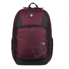 DC Burgundy The Locker 23L Backpack 03133