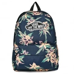 Vans Realm Backpack Blue Fall Tropics