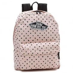 Vans Realm Backpack Powder Pink Polka