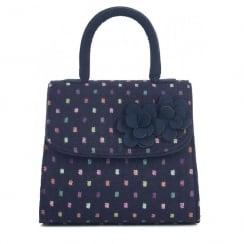 Ruby Shoo Kingston Handbag - Navy/Multi