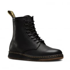 Dr Martens Womens Newton Black Lace Up Ankle Boots