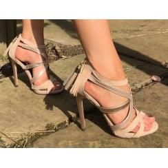 Glamour Nude Strap Sandal