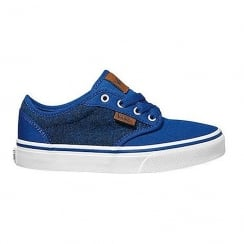 Vans Kids Yt Atwood Youth Blue Trainers Shoes